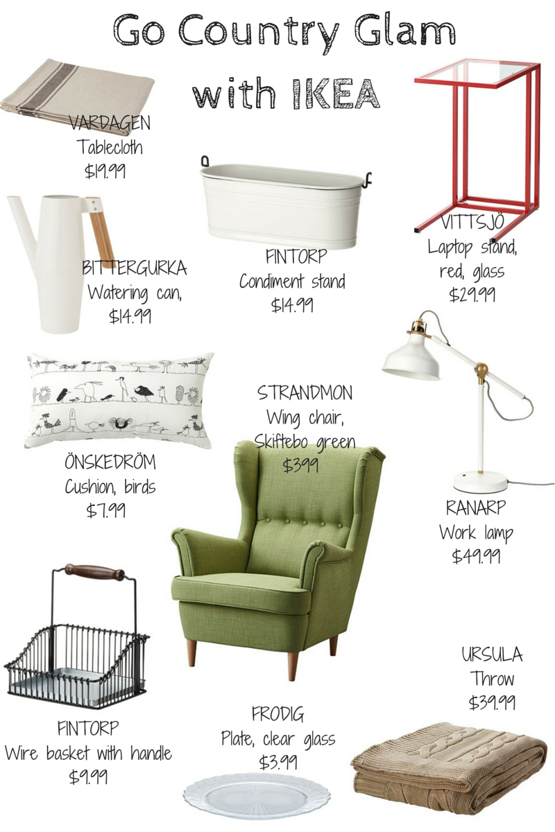 La Maison Jolie 10 Ikea Must Haves To Go All Country Glam Ikea  # Muebles La Moheda