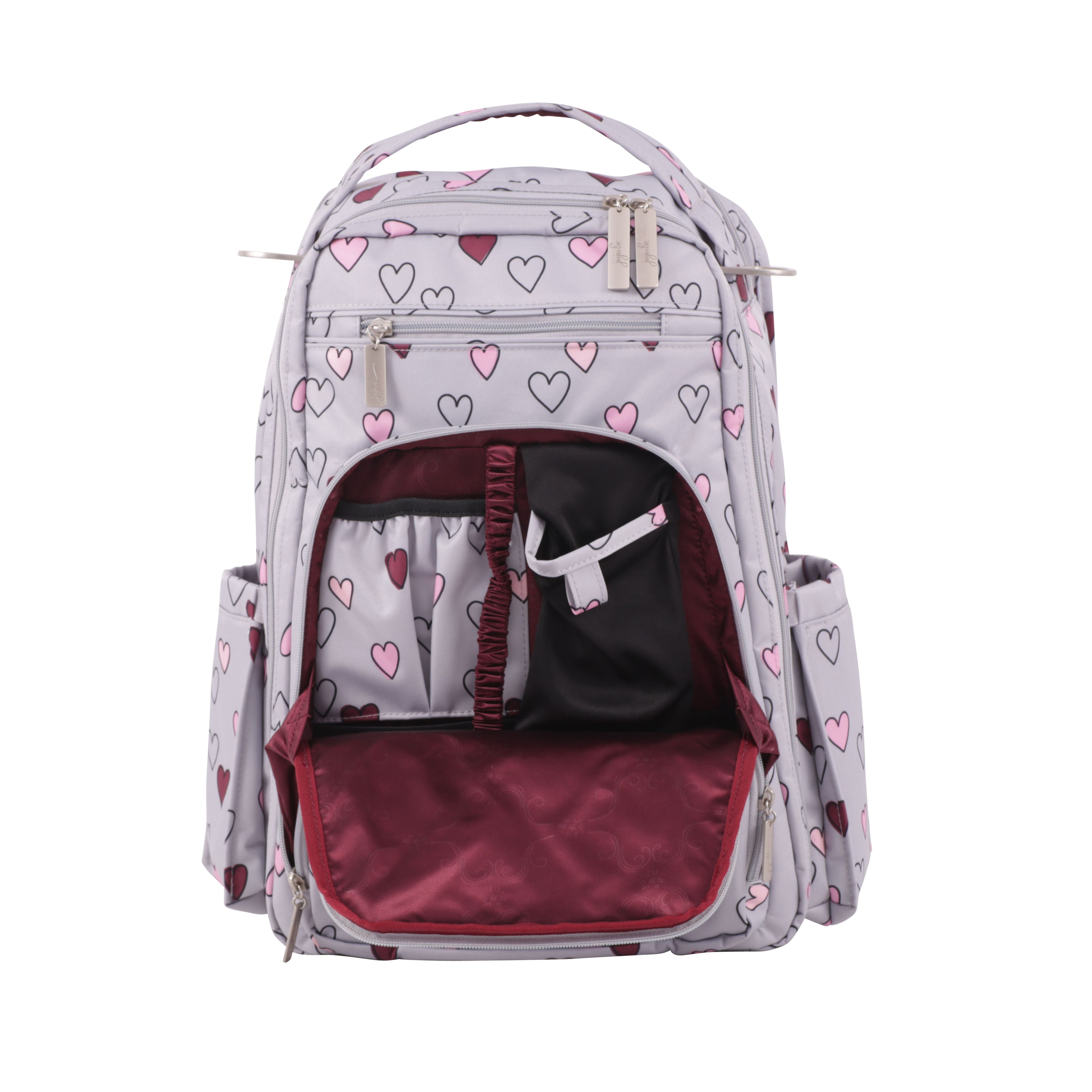 37981823ebe5 Ju-Ju-Be Classic  Be Right Back in Happy heart! €144.95  £122.00. Machine  washable bag to look good while being a great mom.