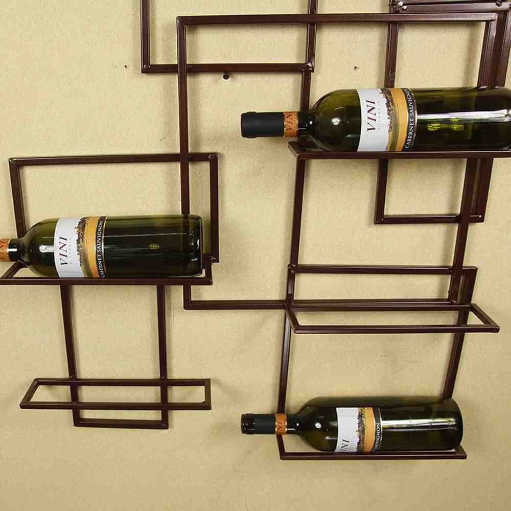 Wall Hanging Wine Glass Rack | Wall Wine Rack | Pinterest ...