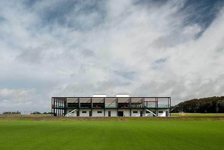 Vejle FC Club house & Training grounds  C.F. Møller. Photo: Julian Weyer