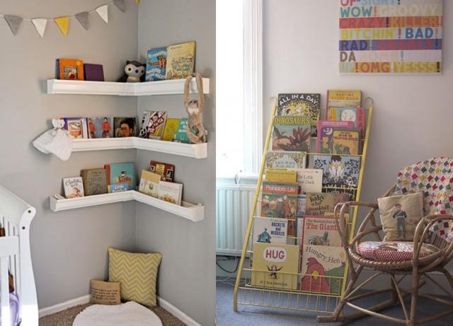 un coin lecture pour les kids pour la future salle de. Black Bedroom Furniture Sets. Home Design Ideas