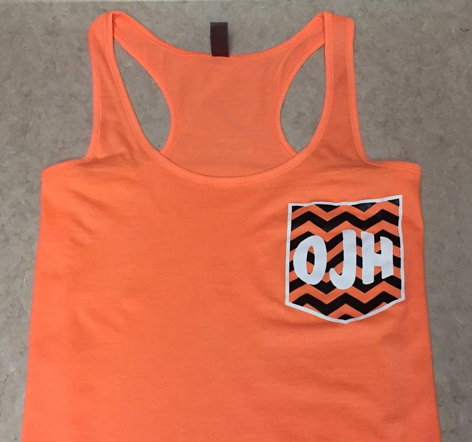 Ozark Junior High Cheer Athletic Tank Tops Cheer Shirts Women