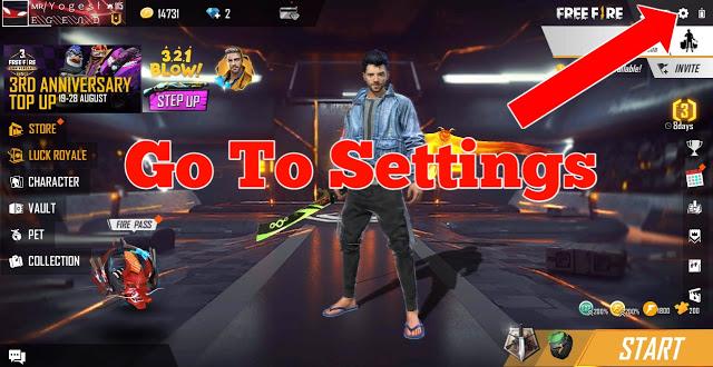 افضل اعدادات في لعبة فري فاير 2020 Free Fire التحديث الجديد إعدادات هيدشوت أقوى لاعب برازيلي Step Up 3 Go To Settings Neon Signs