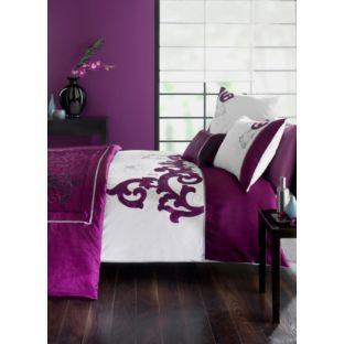 Jeff Banks Cavalli Embroidered Duvet Set Kingsize At Argos Co Uk