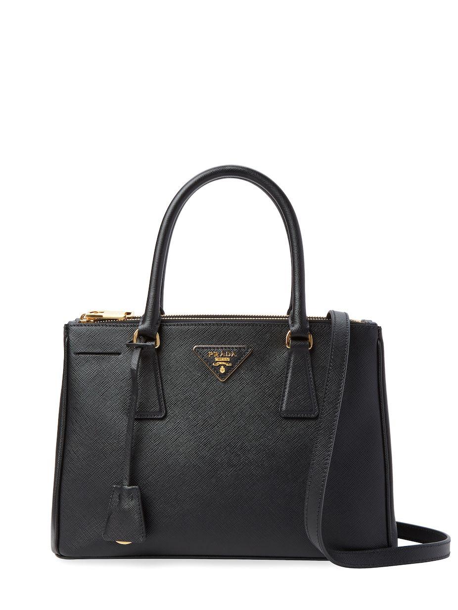 97dbb019f876 Prada Galleria Double Zip Small Saffiano Leather Tote