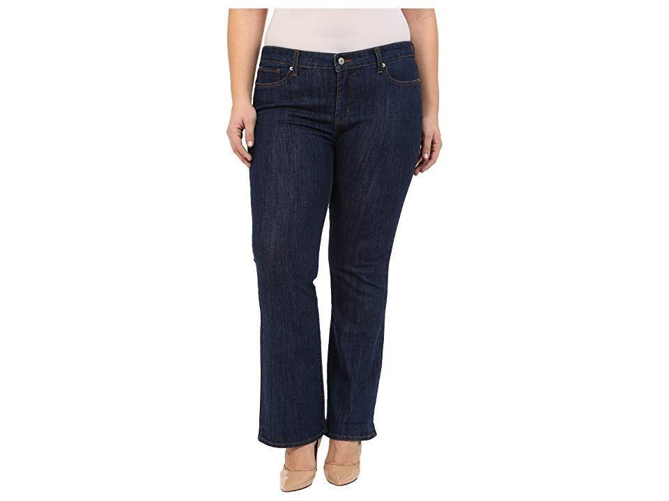 f719d699136 Levi s(r) Plus 415 Classic Bootcut (Storm Rider) Women s Jeans. If ...