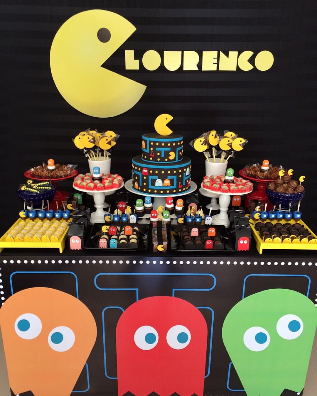 Pacman party events in 2019 - 80er party dekoration ...