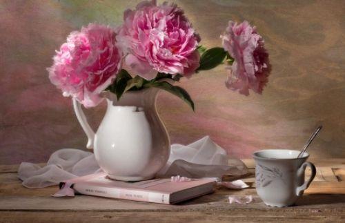 Still Life - life, pink, petals, flowers, still, lovely, romantic, beautiful, romance, prettiest