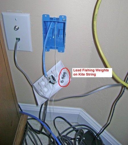 Wiring A Home Ethernet Handymanhowto Com Diy Home Security