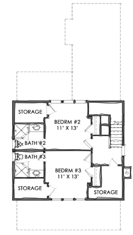 TNH-SC-47A House Plan by Moser Design Group | Eric Moser ...
