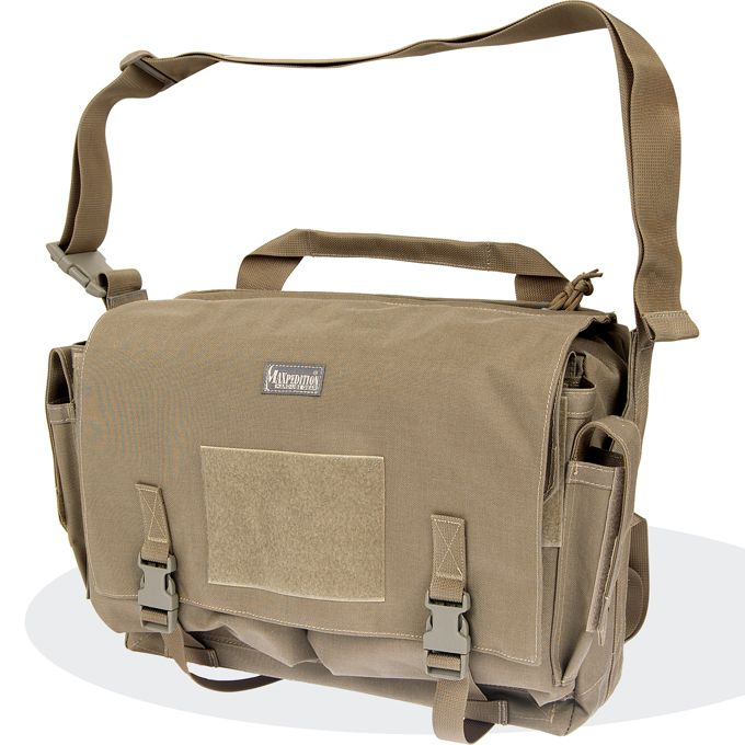 4055ec5c9e Maxpedition LARKSPUR Messenger Bag Covert Carry Courier Sling Tactical Gear  Bag - MAXPEDITION HARD-USE GEAR Tactical Nylon Gear for Military