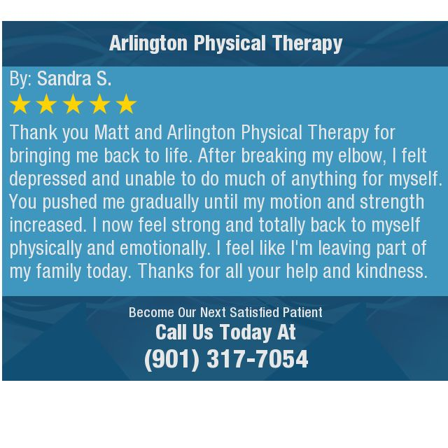 Thank You Matt And Arlington Physical Therapy For Bringing Me Back
