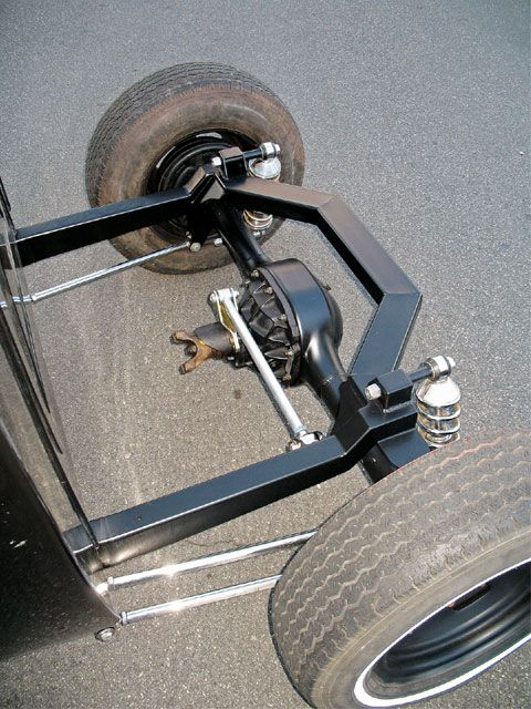 Rear Suspension And Chassis Tuning Hot Rod Network Rat