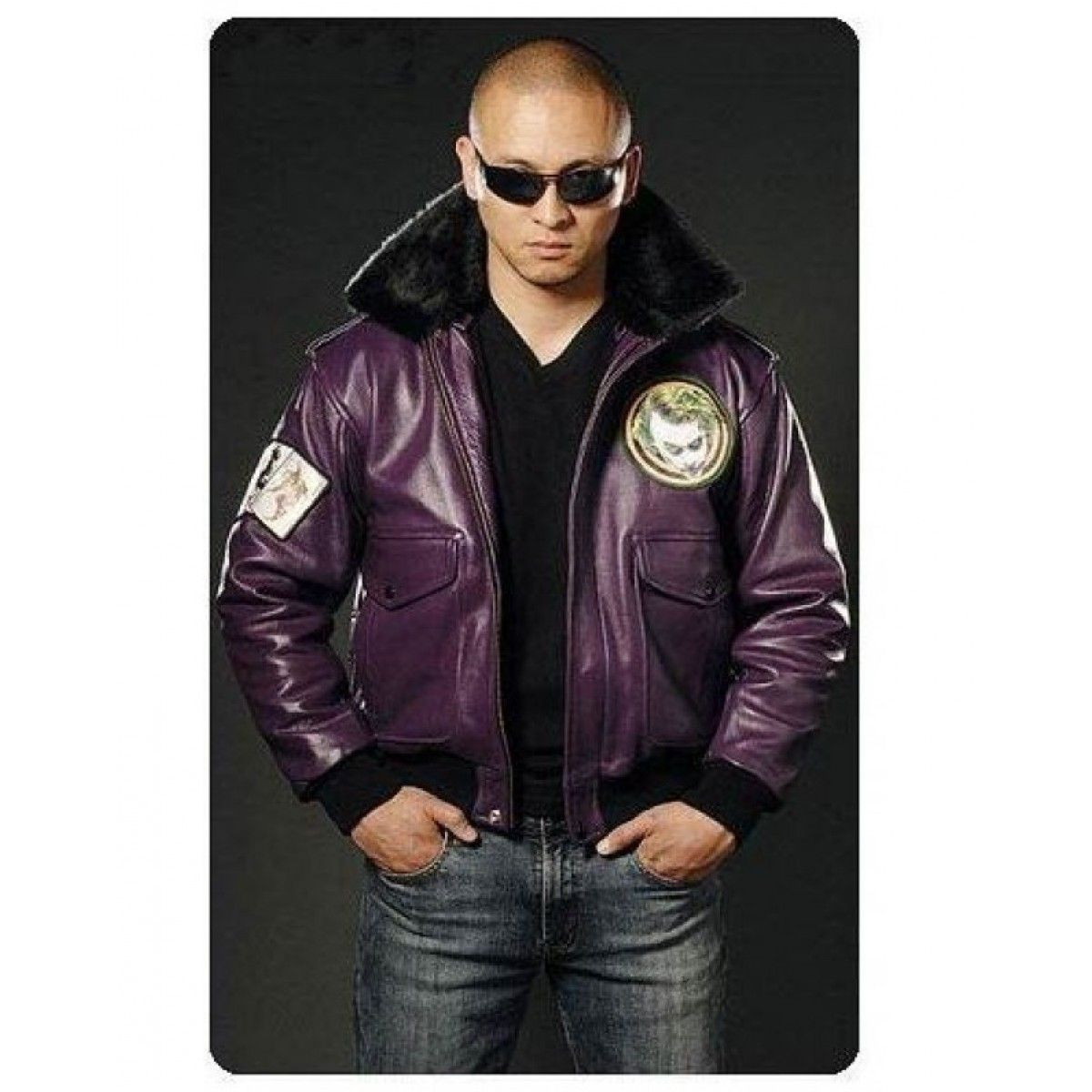 Leather jacket yellow stripe - Batman Motorcycle Yellow Stripes Costume Leather Jacket