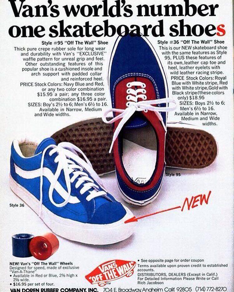 Yup #retroads #70s #vans #shoes #vansshoes #footwear