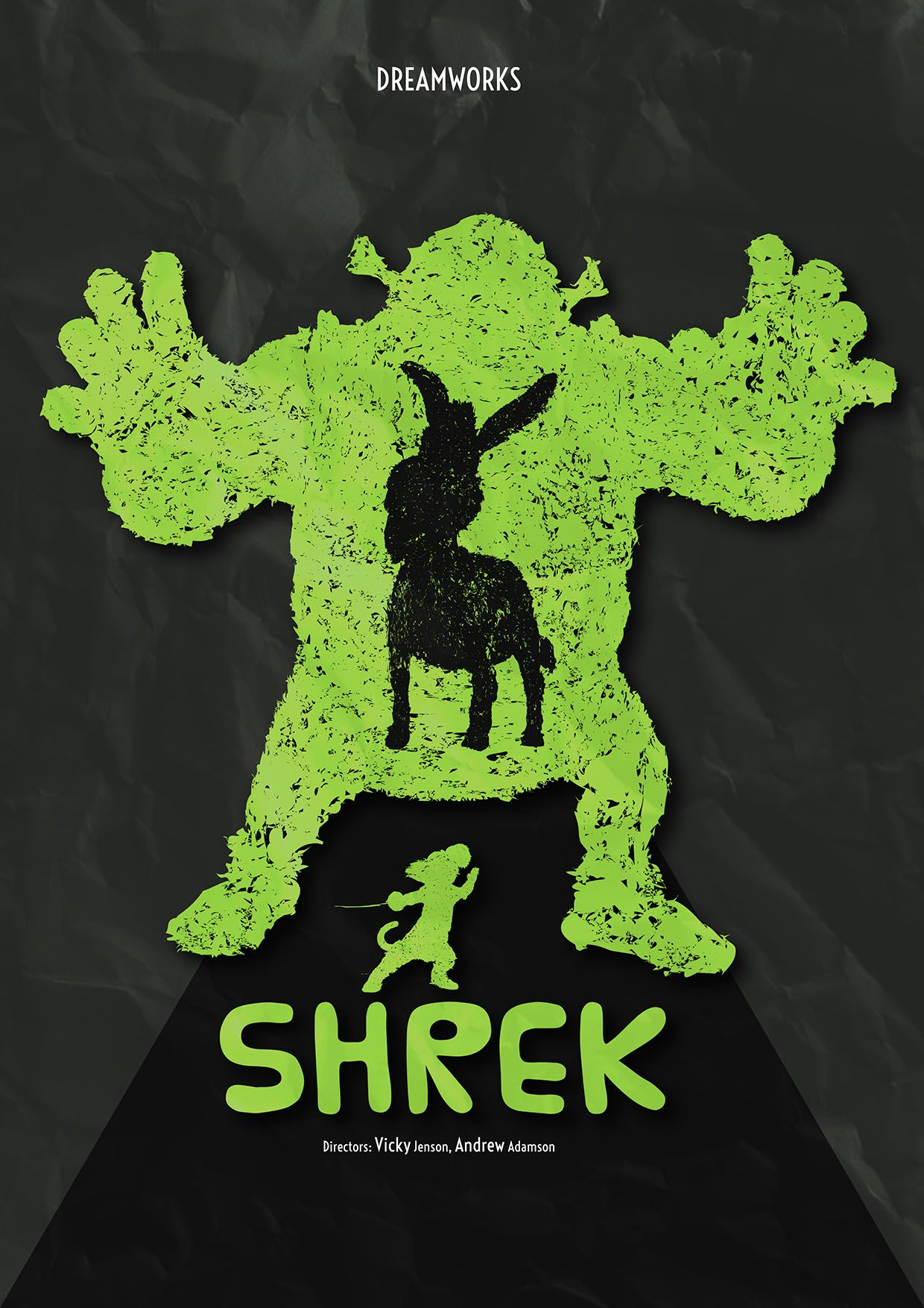 Shrek Movie Poster - Simple series
