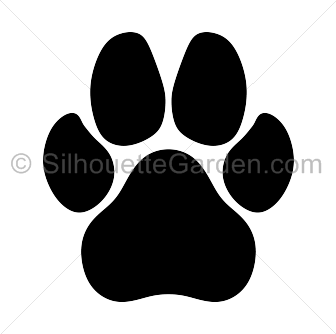 dog paw print silhouette clip ar silhouette clip art at rh pinterest com dog paw heart clipart dog paw clipart png