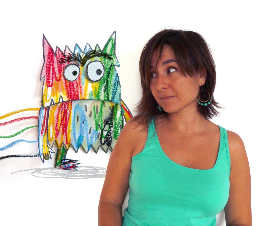 """Anna Llenas es la autora de libros de EMOCIONES como """"El Monstruo de Colores"""". Es Arteterapeuta y Licenciada en Publicidad y Relaciones Públicas. Conoce más de la autora en: www.annallenas.com"""