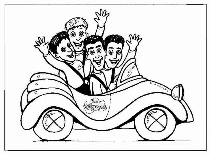 Free Free Wiggles Coloring Pages For Kids Cartoon Coloring Pages Cars Coloring Pages Birthday Coloring Pages