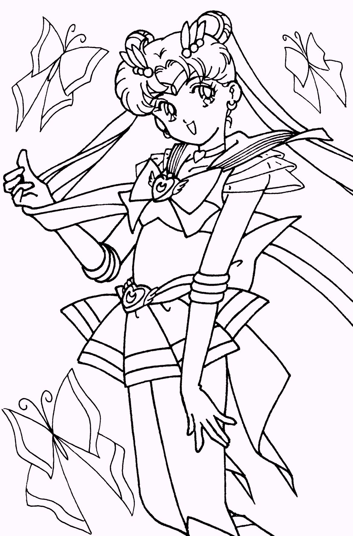 Pin By Bryantjessi On Sailor Moon Themed Moon Coloring Pages Sailor Moon Coloring Pages Sailor Moon Art [ 1776 x 1170 Pixel ]