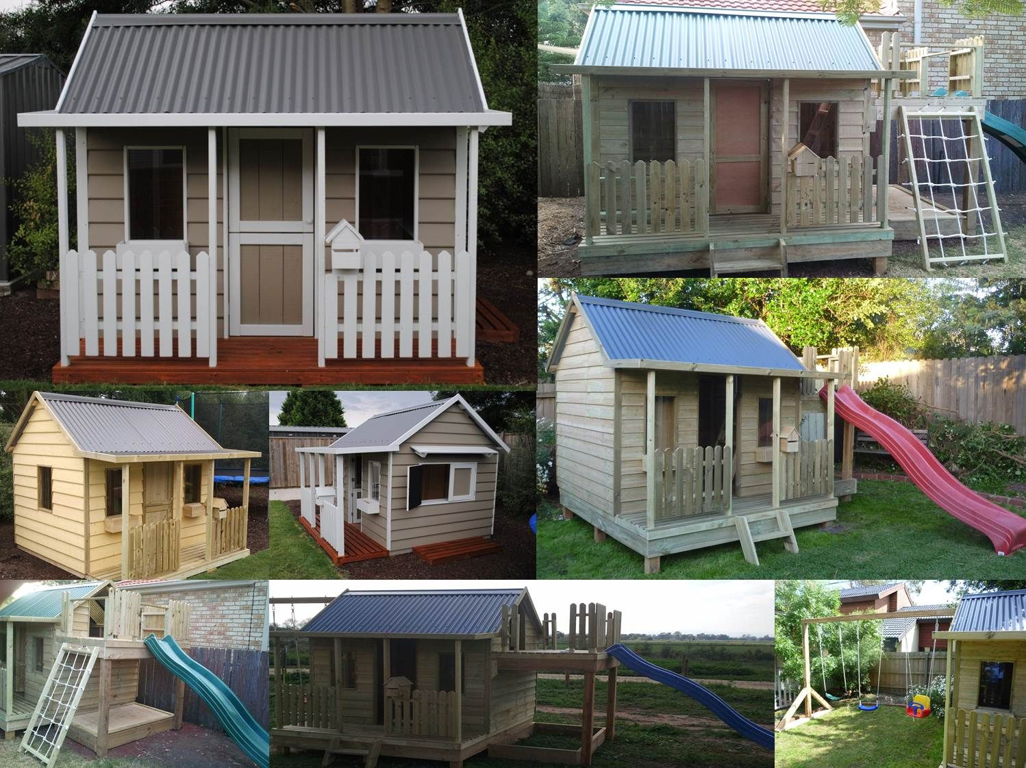 The Ruby 3 Cubby House For Outdoor Kids