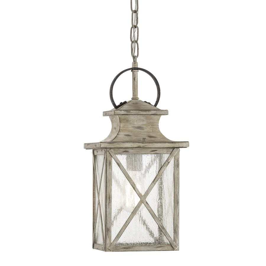 Shop Kichler Lighting Haven 17.17-in Distressed Antique White and Rust Outdoor Pendant Light at Lowes.com  sc 1 st  Pinterest & Shop Kichler Lighting Haven 17.17-in Distressed Antique White and ...