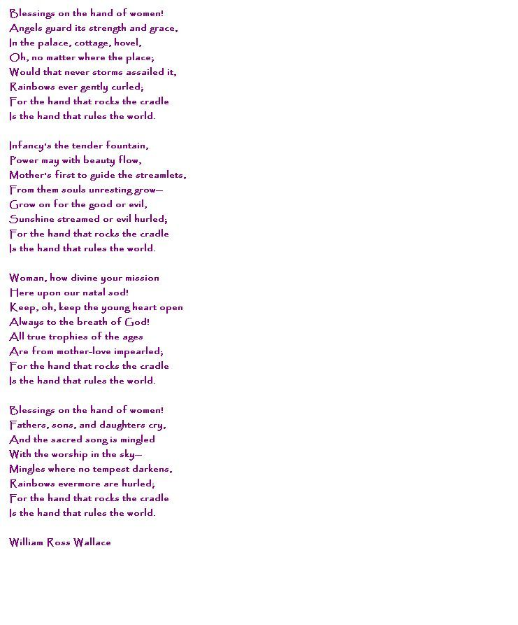 Poems About Hand 7