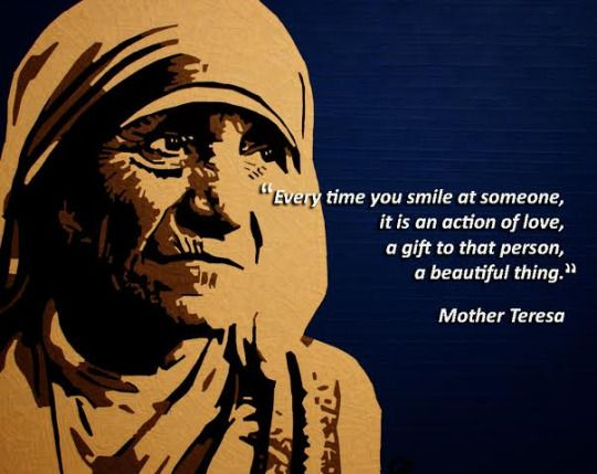 Sareez.com : Quote of the day  #MotherTeresa #Peace #Love #GoodFriday2015 #Easter #JesusChrist