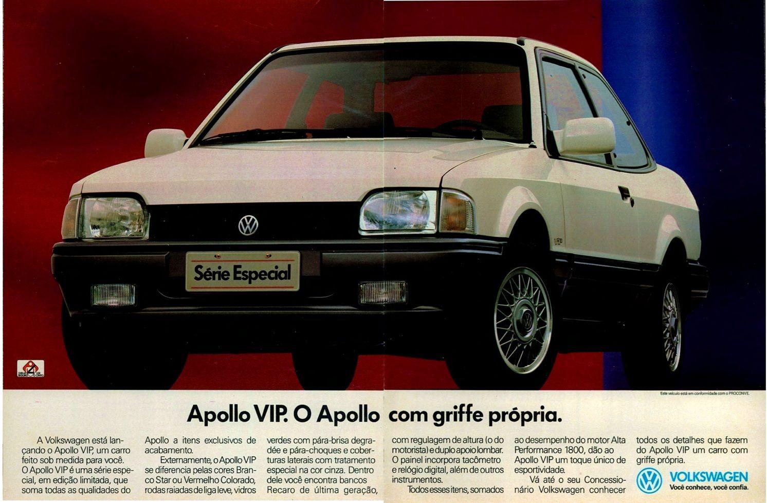 VW Apollo Vip | Carros e caminhões, Volkswagen, Carros