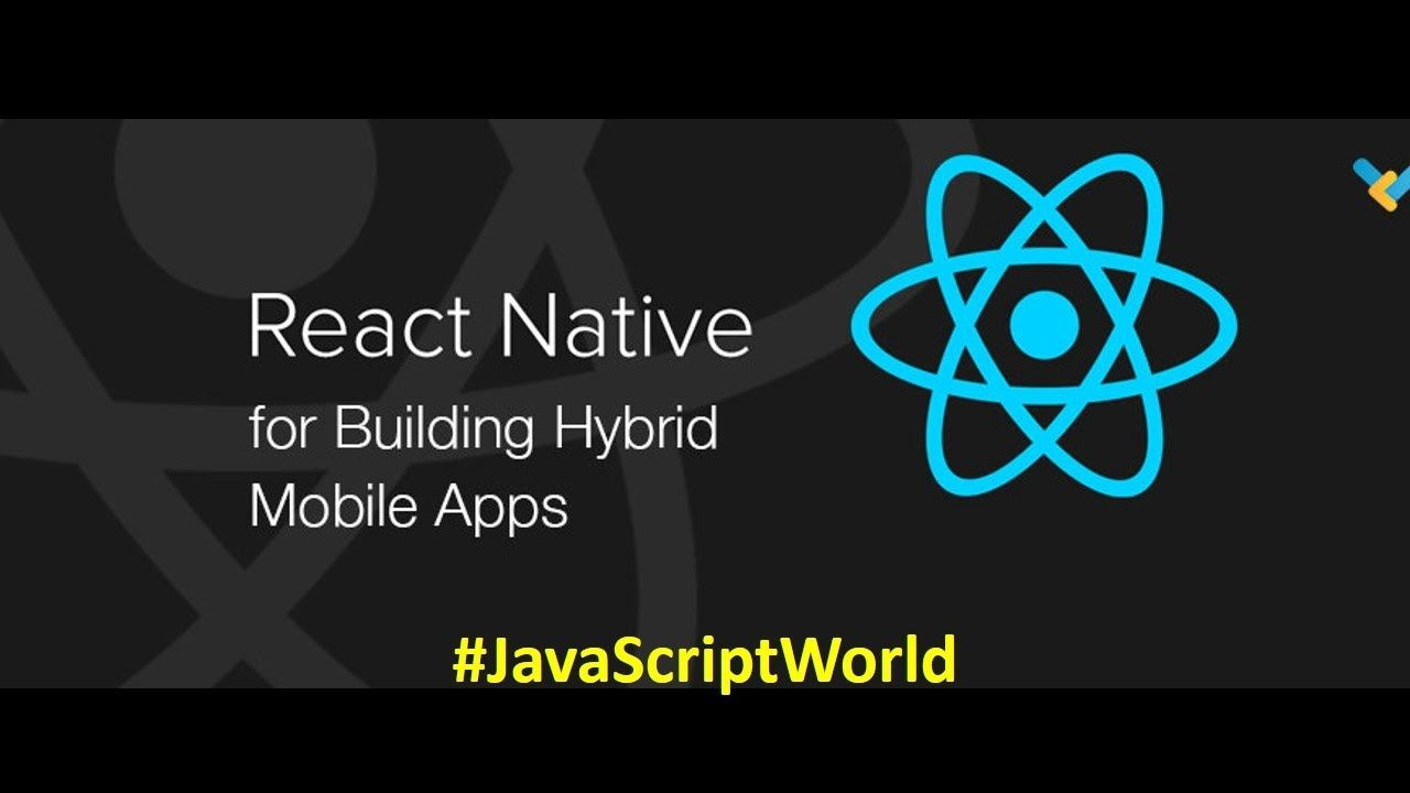 Building hybrid and mobile apps with React #JavaScriptWorld