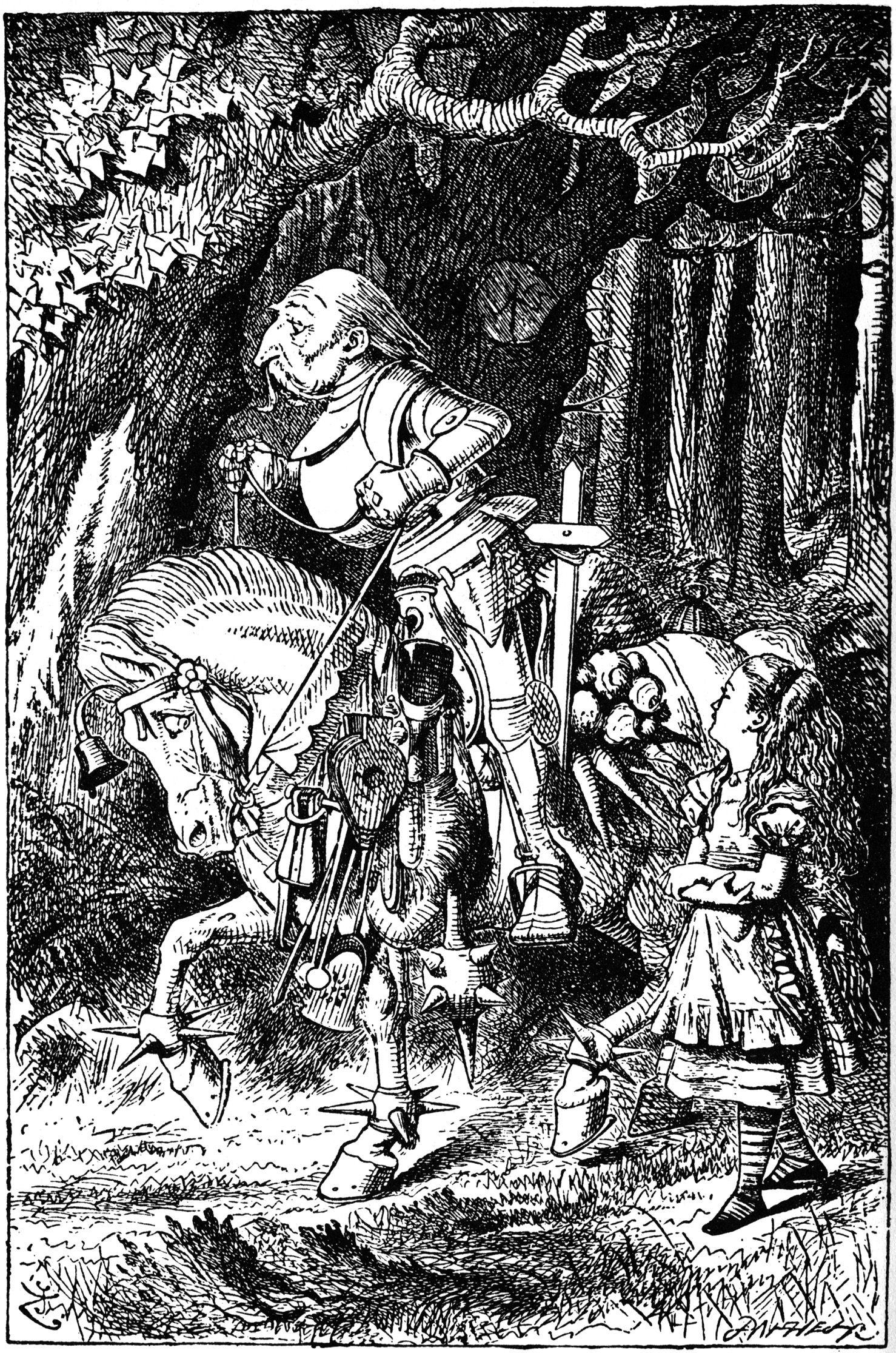 Pictures From Through The Looking Glass Alice In
