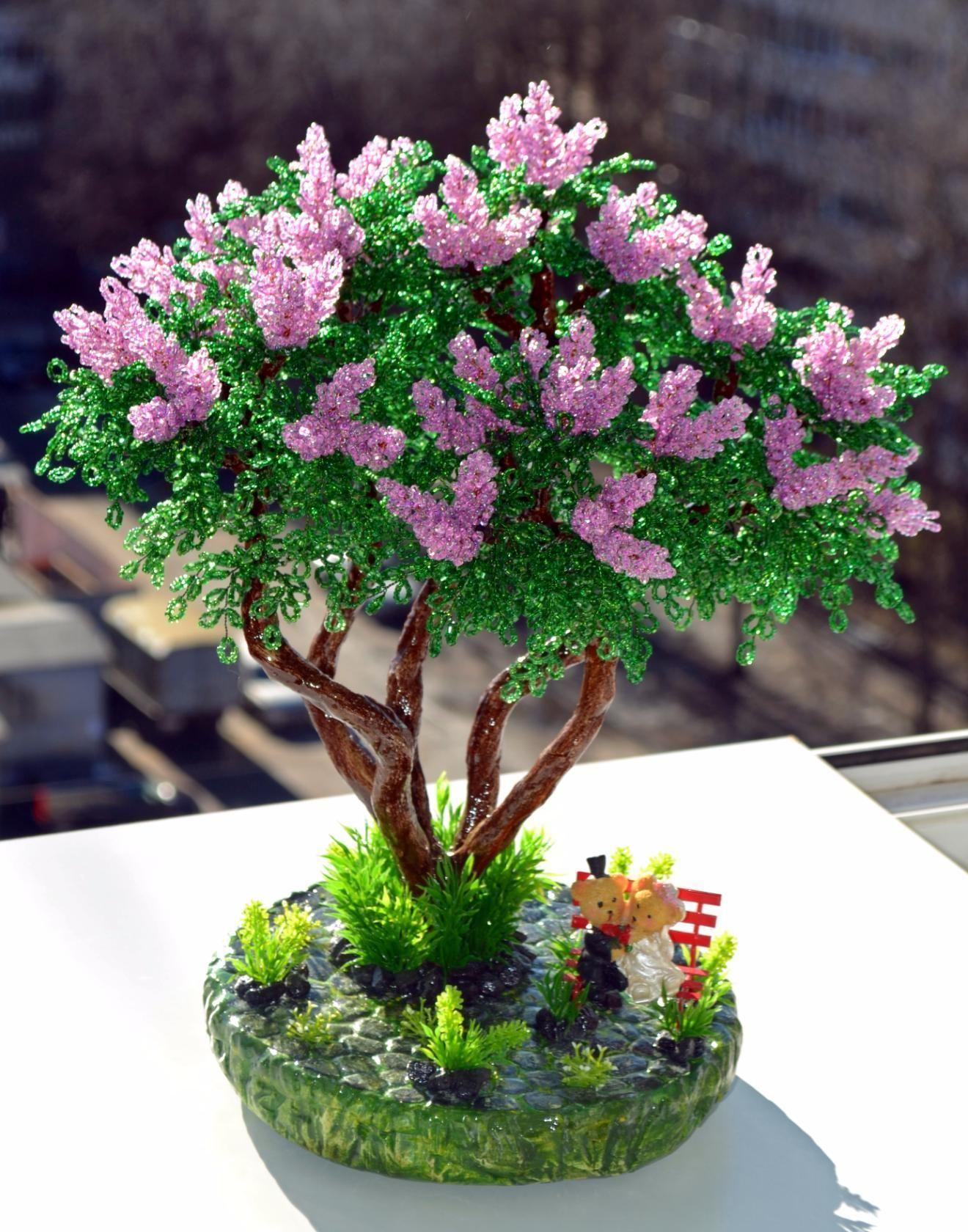 новые деревья из бисера картинки и фото запросу стол
