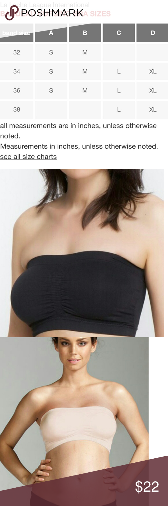 5f8a524aeff3e NEW Nursing Bra Strapless La Leche League?Black S Wear it pregnant or not,  this oh-so - comfortable strapless nursing bra from La Leche League  actually ...