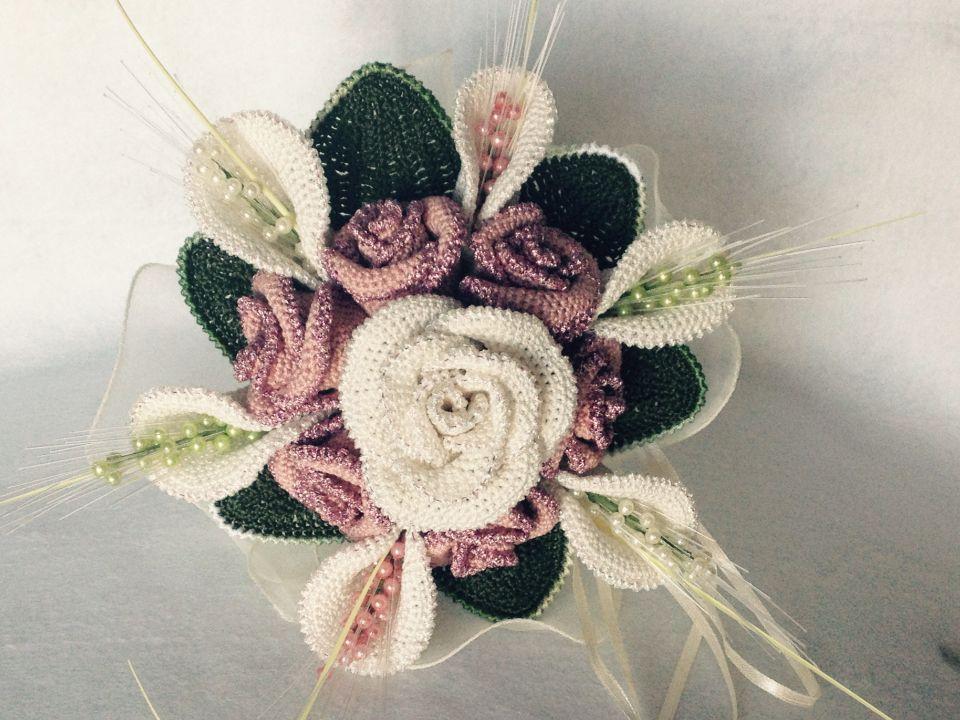Bouquet di rose per comunione
