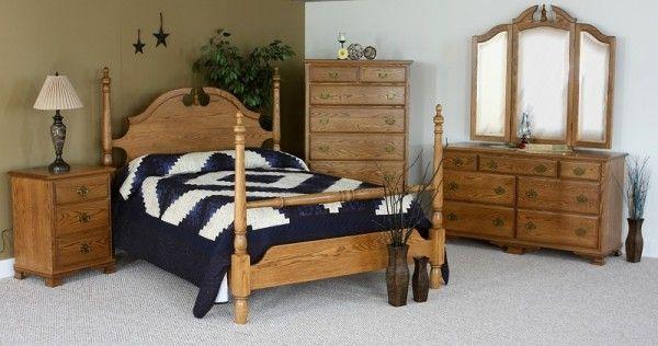 Schrock Heritage Amish Bedroom Collection Furniture Bedroom Furniture Amish Furniture Bedroom