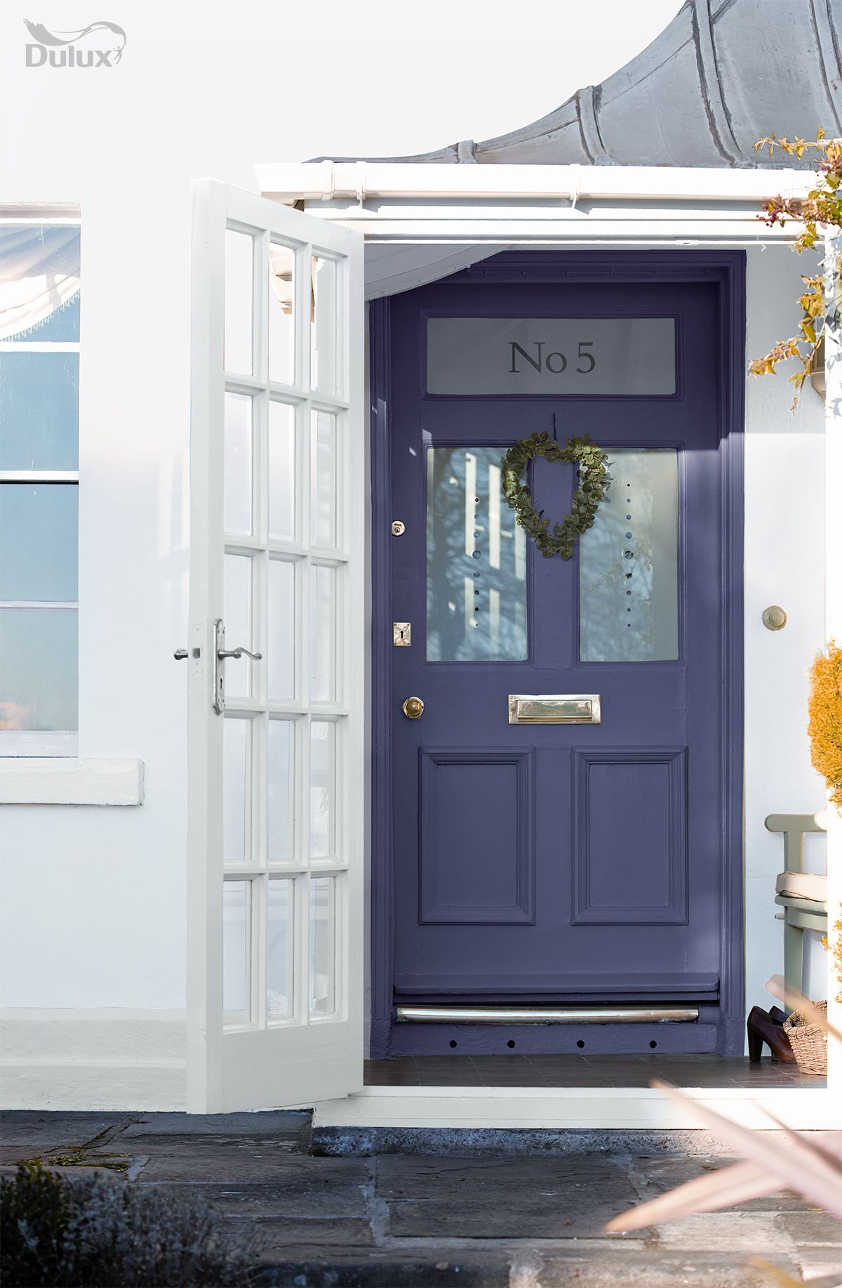 Feel Calm From The Moment You Enter Your Home By Painting Your Door With Mercury Showers 1 From