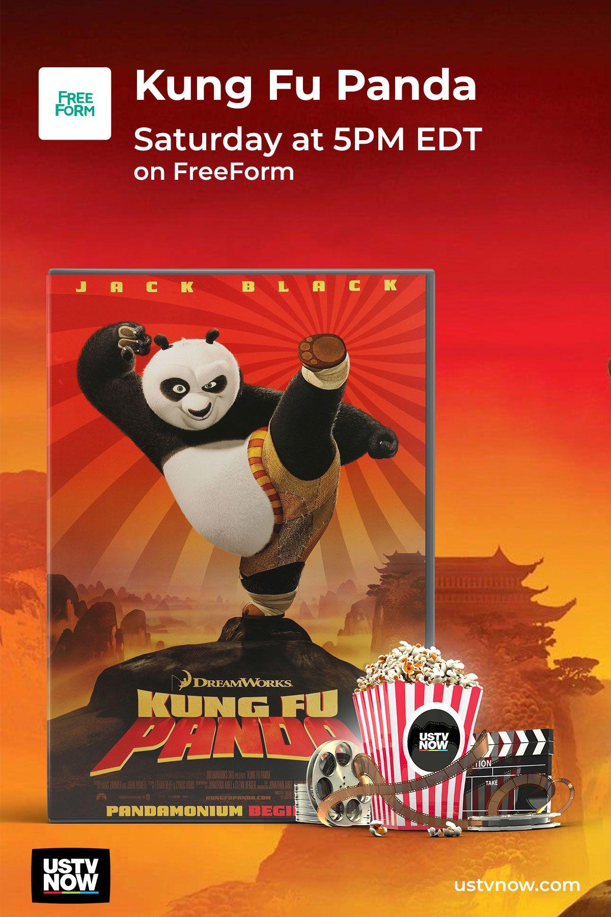 Watch Kung Fu Panda On Freeform Saturday At 5 00 Pm Edt