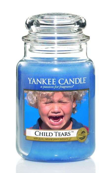 Rejected Yankee Candle scents #138  This is so wrong yet I laffed