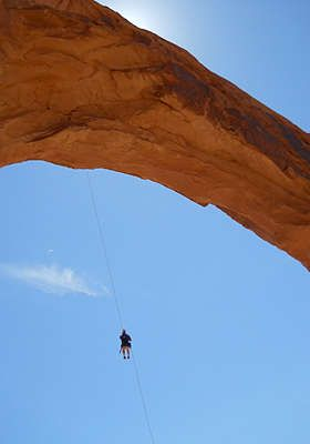 World S Largest Rope Swing Moab Utah Come With Me