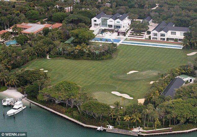 wenn com tiger woods bought a  60 million mansion
