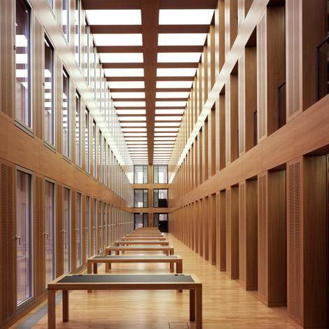 Münster Architekten max dudler architekt diözesanbibliothek münster max dudler