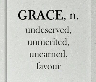 Good morning and happy Friday Folks! I woke up today with a flashback music track (1996) in my mind. It's message got me thinking about grace. What is grace anyway? When the scribes and Ph…