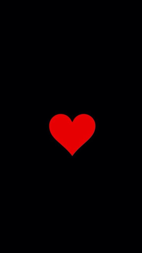 Black Phone Wallpaper With A Red Heart In The Center Miss Chic Black Phone Wallpaper Heart Wallpaper Phone Wallpaper