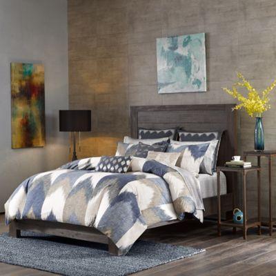 Ink Ivy Alpine Full Queen Mini Comforter Set In Navy From Bed Bath Beyond