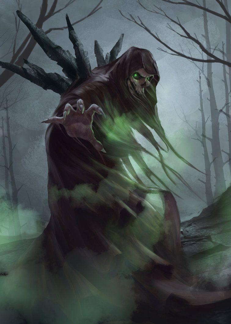 Wraith by andreiaugrai.deviantart.com on @DeviantArt
