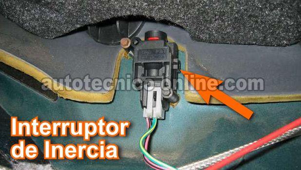 Interruptor De Inercia De La Bomba De Combustible De Ford