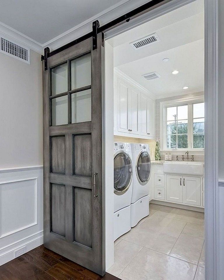 55 Inspiring Simple And Awesome Laundry Room Ideas Laundry Room Design Farmhouse Laundry Room Laundry Room Storage