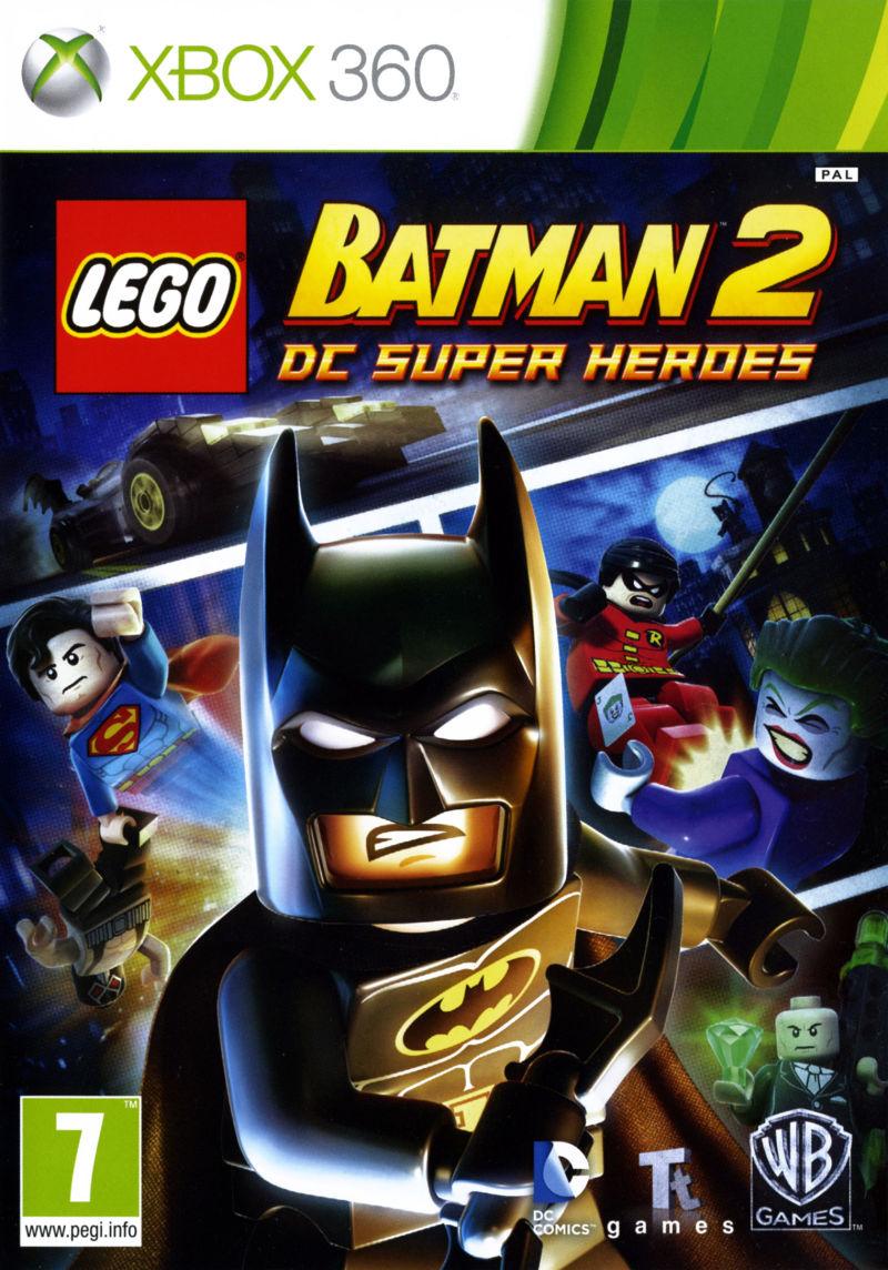 Lego Batman 2 Dc Super Heroes 2012 Macintosh Box Cover Art Mobygames Lego Batman 2 Lego Batman Batman