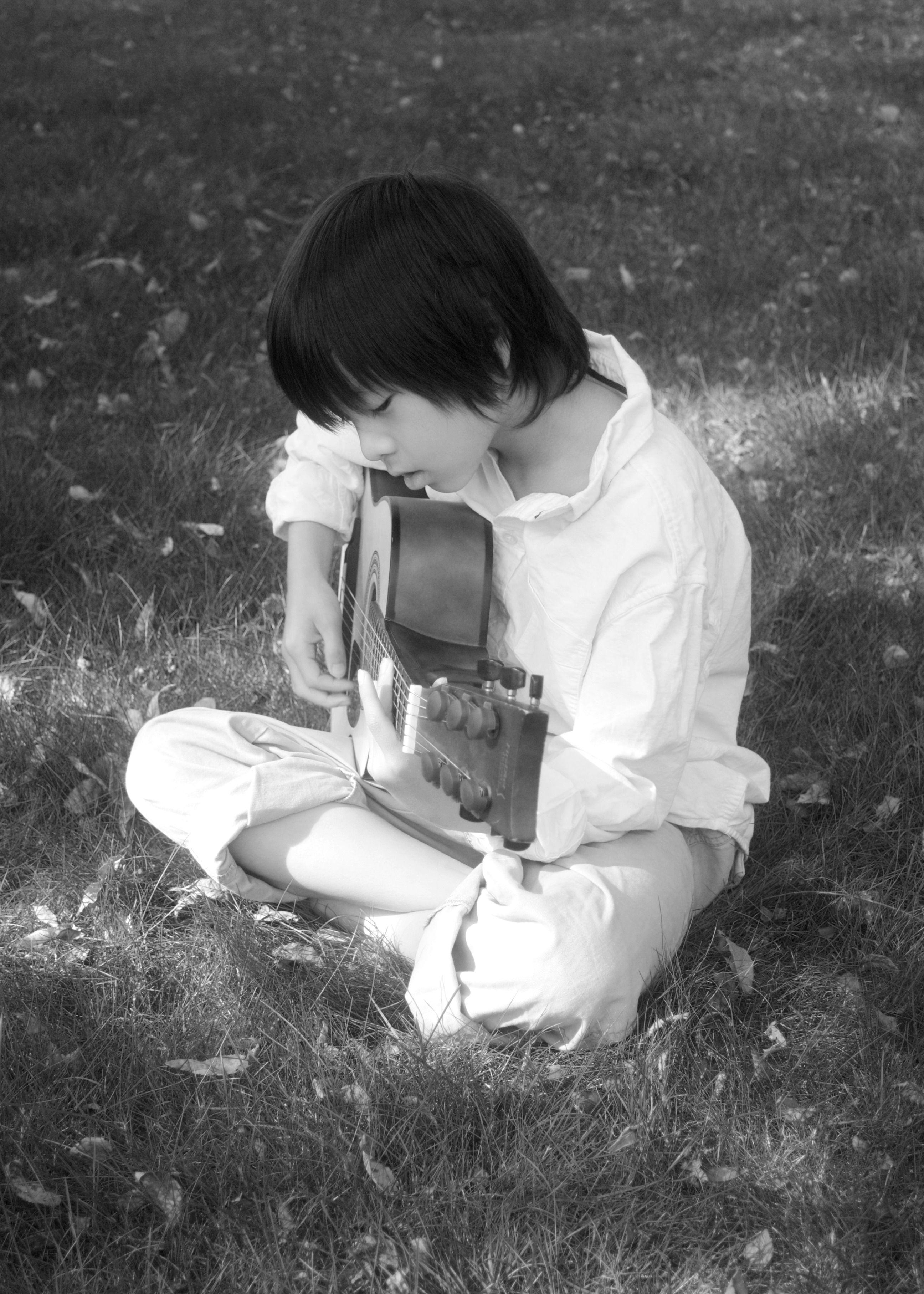 my little music-maker. | The dreamers, Backyard, Music