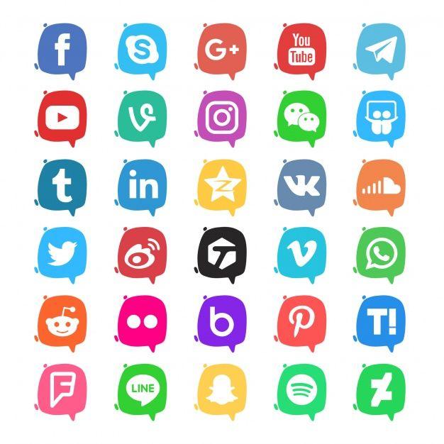 afc9113991716 Pack de iconos de redes sociales Vector Gratis en Iconos Por johndory    Freepik
